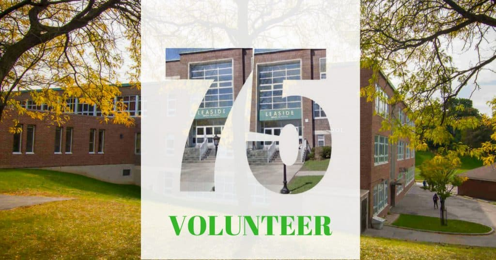 volunteer for the Leaside High School Alumni Association