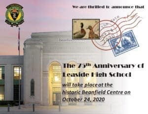 LHS 75th Anniversary - Oct. 24, 2020