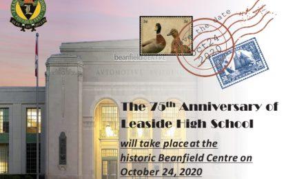 LHS 75th Anniversary - Oct. 24, 2020