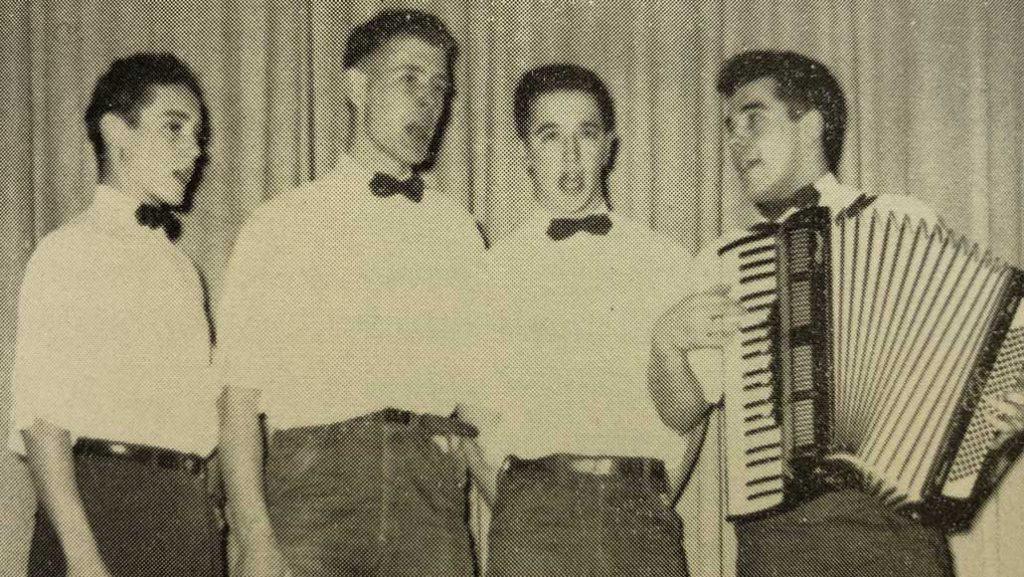 Levitt, Ian Harvie, Jim Muzzin and Joe Amwake in the early days.